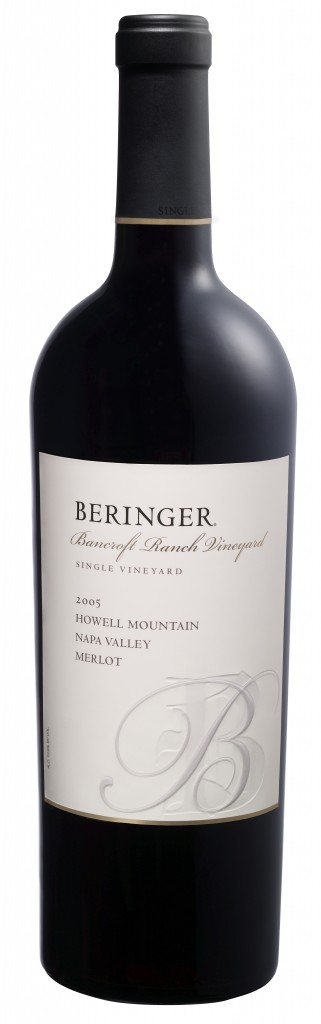 Beringer Bancroft Ranch Howell Mountain Merlot 2005