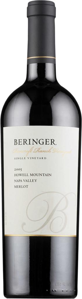 Beringer Bancroft Ranch Howell Mountain Merlot 2006