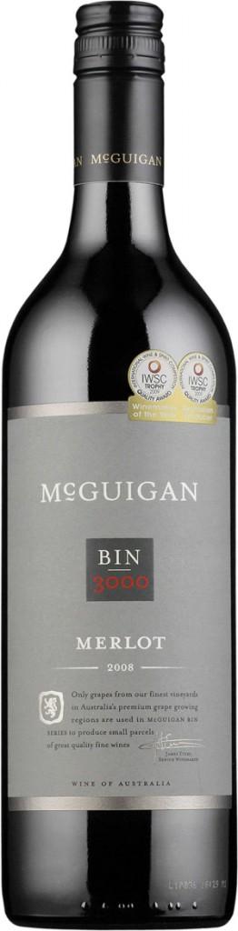 McGuigan Bin 3000 Merlot 2008