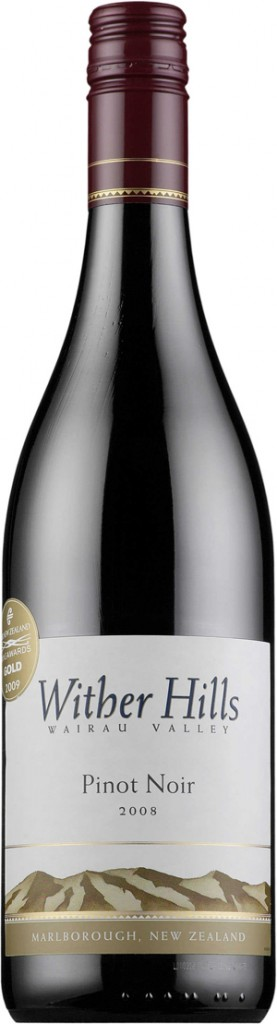 Wither Hills Wairau Valley Pinot Noir 2008