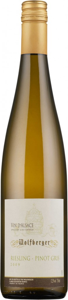 Wolfberger Riesling-Pinot Gris 2009