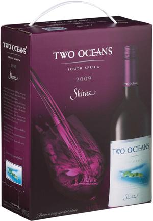 Two Oceans Shiraz 2010