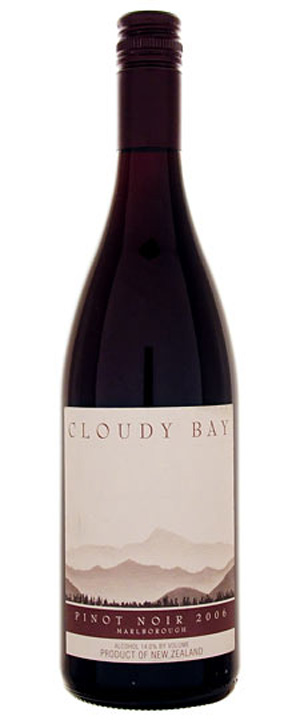 Cloudy Bay Pinot Noir 2008