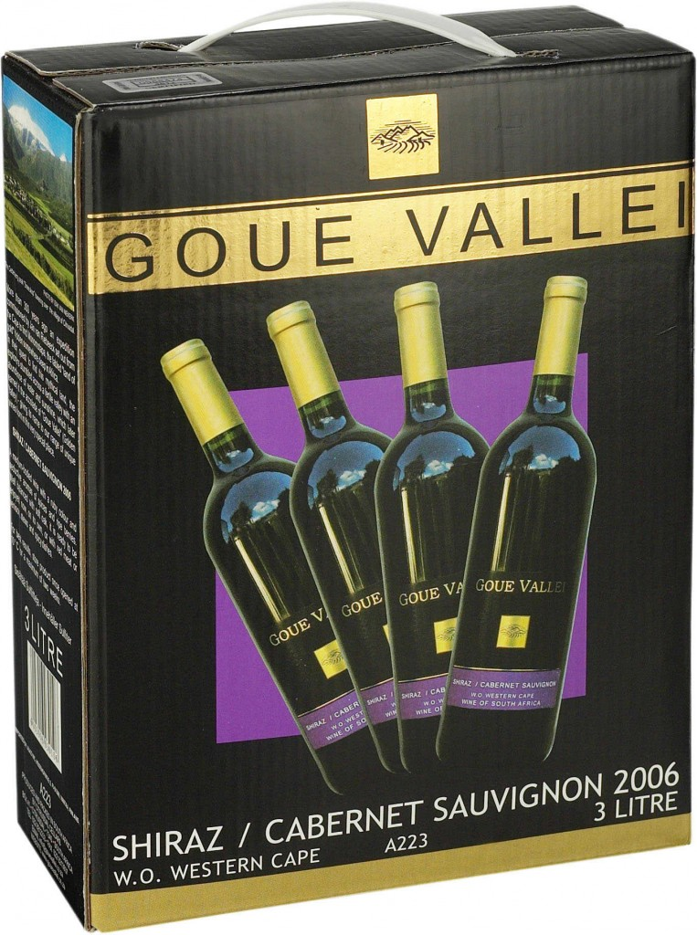 Goue Vallei Shiraz Cabernet Sauvignon 2010