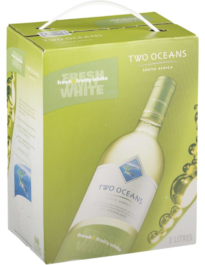 Two Oceans Fresh & Fruity White 2011