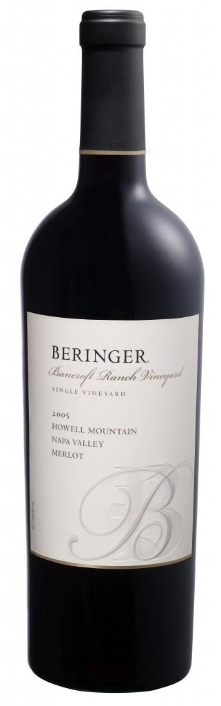 Beringer Bancroft Ranch Howell Mountain Merlot 2005