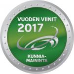 Vuoden Viinit 2017 Kunniamaininta