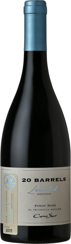 Cono Sur 20 Barrels Pinot Noir 2015