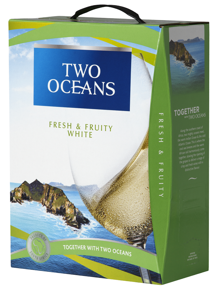 Two Oceans Fresh & Fruity White 2017