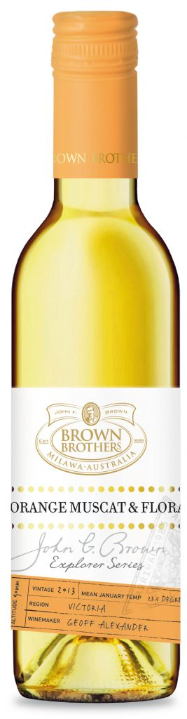 Brown Brothers Orange Muscat Flora 2016