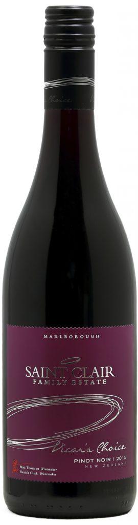 Saint Clair Vicar's Choice Pinot Noir 2015