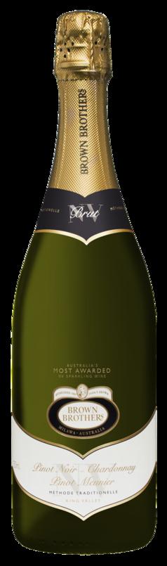 Brown Brothers Chardonnay-Pinot Noir-Pinor Meunier Brut