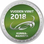Vuoden Viinit 2018 Kunniamaininta