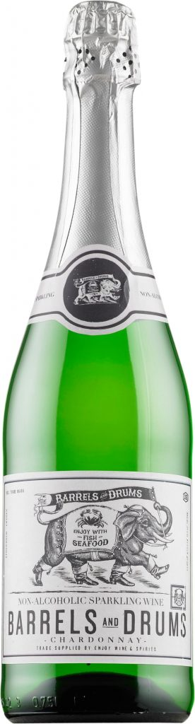 Barrels and Drums Chardonnay Non-alcoholic Sparkling