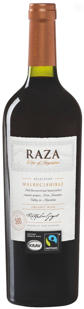 Raza Selection Malbec Shiraz Organic 2016