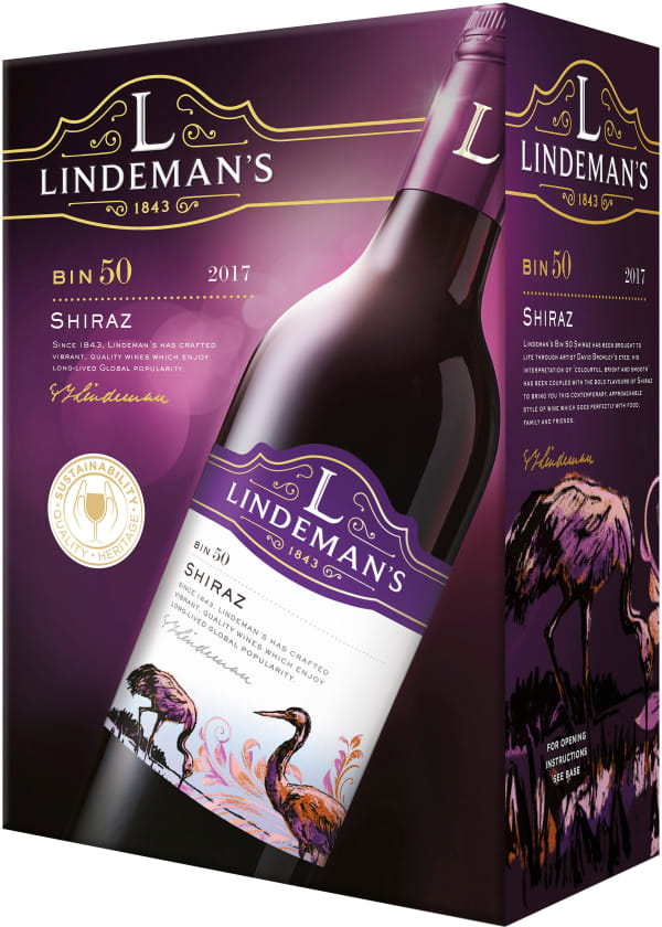 Lindeman's Bin 50 Shiraz 2020