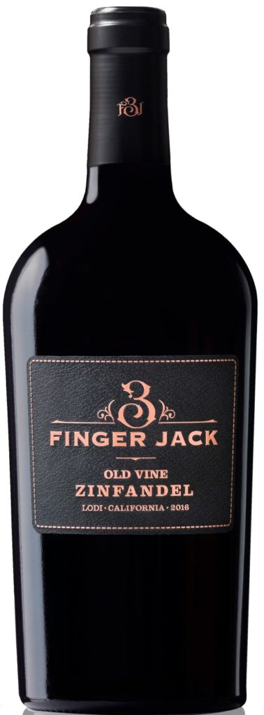 Three Finger Jack Old Vine Zinfandel 2018