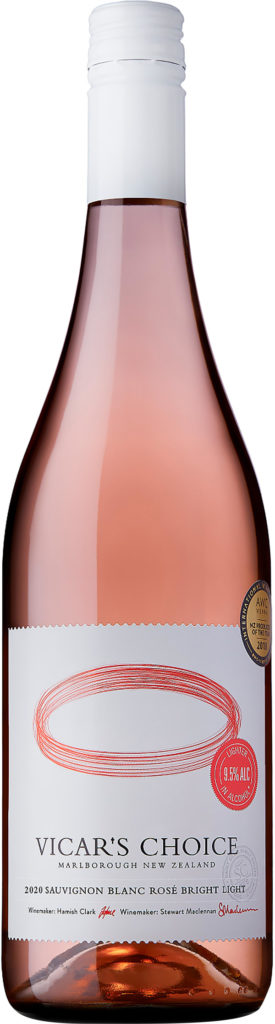 Saint Clair Vicar´s Choice Sauvignon Blanc Rosé Bright Light 2020